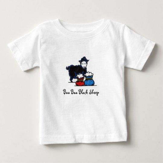 Baa Baa Black Sheep Baby T-Shirt