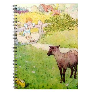 Baa Baa Black Sheep Notebook