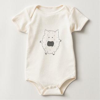 Baa Baa Sheep Baby Bodysuit