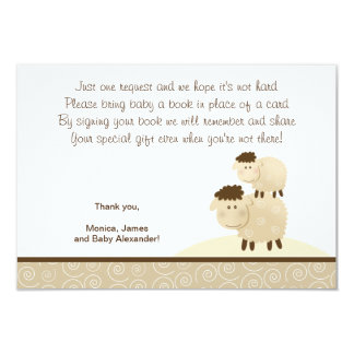 Baa Baa Sheep (Neutral color) RSVP Enclosure Cards