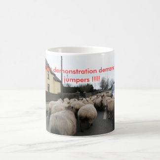 Baa Baa Street demonstration Basic White Mug