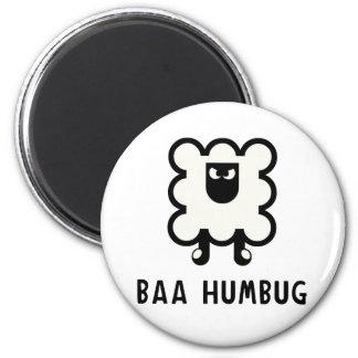 Baa Humbug 6 Cm Round Magnet