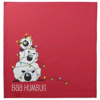 Baa Humbug - Christmas Sheep Napkin