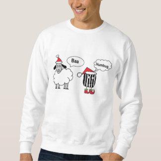 Baa Humbug Funny Festive Sweatshirt