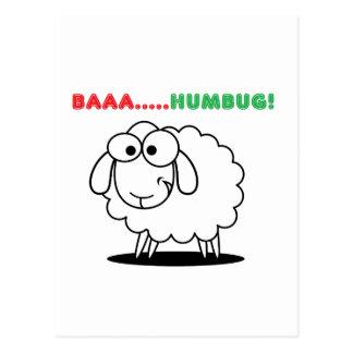 Baa....Humbug! Postcard