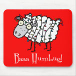 Baaa Humbug Anti-Holiday Mousepad