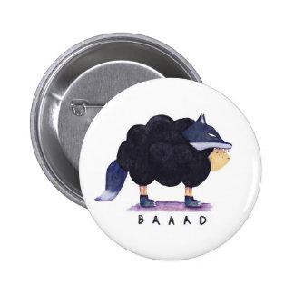 'Baaad Baaad Black Sheep' Button
