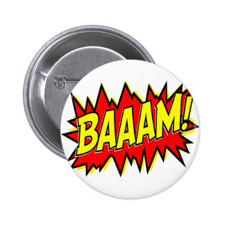 BAAAM! 6 CM ROUND BADGE
