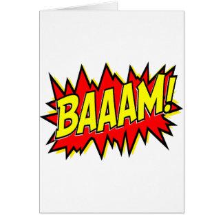 BAAAM! GREETING CARD