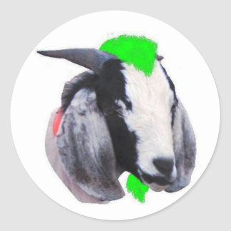 Baad Goat Sticker