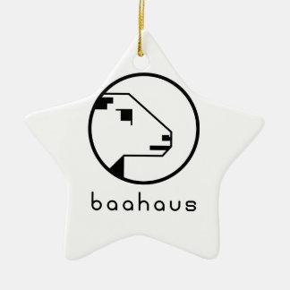 Baahaus Ceramic Star Decoration