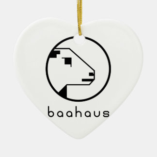 Baahaus Christmas Ornament