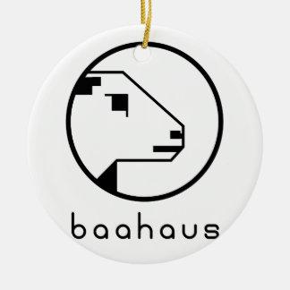Baahaus Round Ceramic Decoration