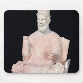 Baal Hammon seated on his throne Mouse Pad