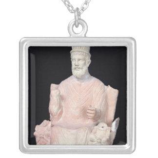 Baal Hammon seated on his throne Custom Necklace