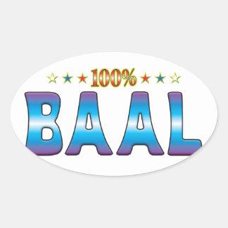 Baal Star Tag v2 Sticker