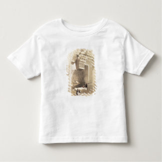 Baalbec, May 7th 1839, plate 81 from Volume II of Toddler T-Shirt
