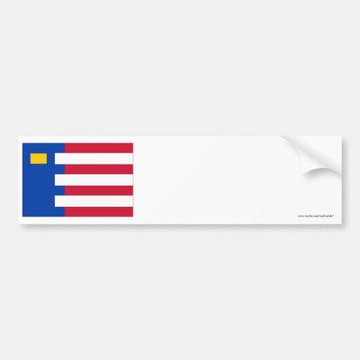 Baarle-Nassau Flag Bumper Stickers