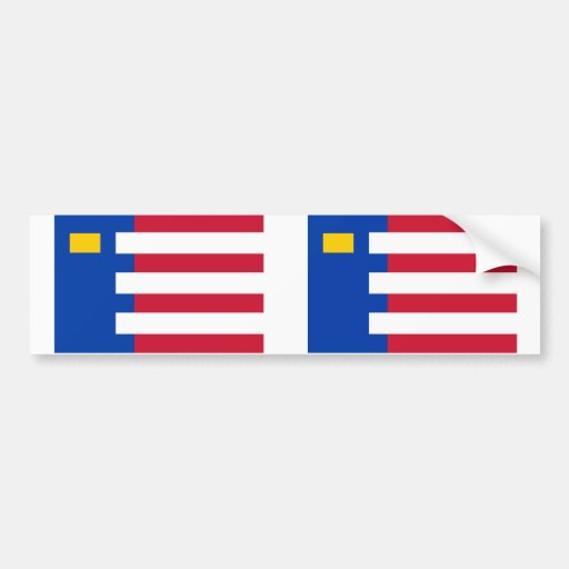 Baarle Nassau, Netherlands flag Bumper Sticker