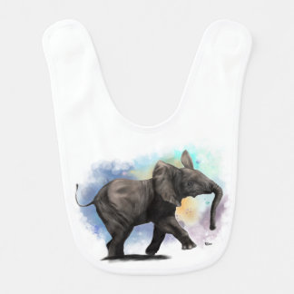 Bab Elephant Walking Bib
