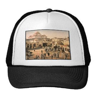 Bab Suika-Suker Square Tunis Tunisia vintage Pho Mesh Hat