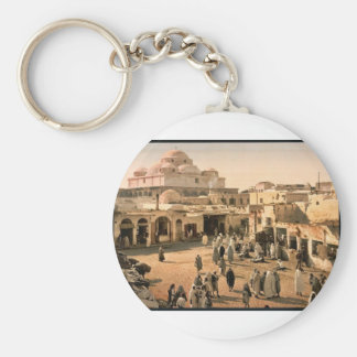 Bab Suika-Suker Square, Tunis, Tunisia vintage Pho Keychains
