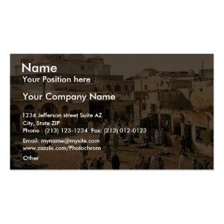 Bab Suika-Suker Square, Tunis, Tunisia vintage Pho Pack Of Standard Business Cards