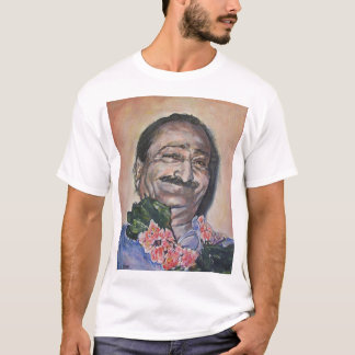 Baba in peach T-Shirt