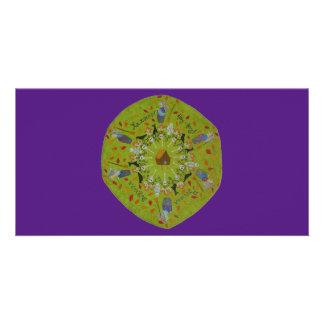Baba Yaga Mandala Customised Photo Card