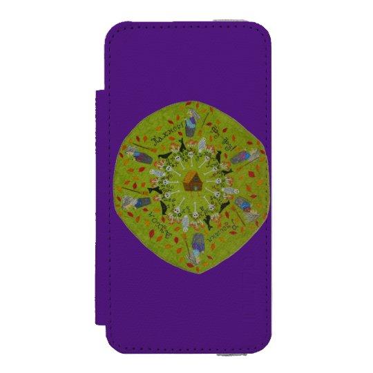 Baba Yaga Mandala Incipio Watson™ iPhone 5 Wallet