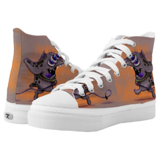 BABABA DOGGY MONSTER ALIEN High Top Shoes 2