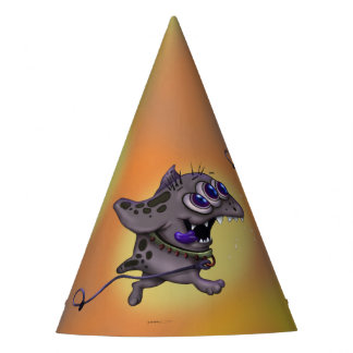 BABABA  MONSTER ALIEN CARTOON PARTY HAT
