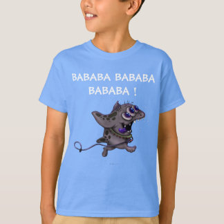 BABABA MONSTER ALIEN HANES TAGLESS SHIRT KID 2