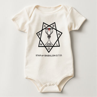 Babalon with Blood Baby Bodysuit