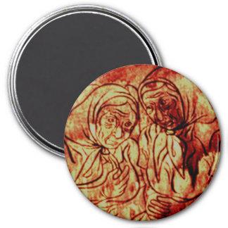 Babas 7.5 Cm Round Magnet