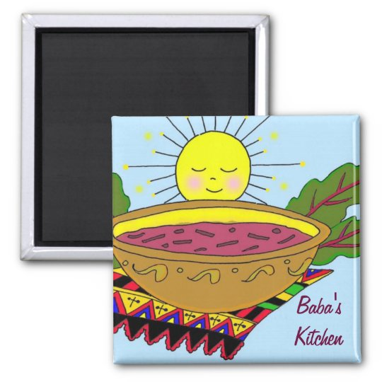 Baba's Kitchen Magnet