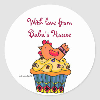 Baba's Kitchen Sticker to Personalize