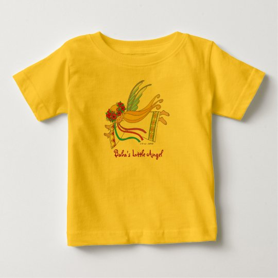 Baba's Little Angel Baby T-Shirt