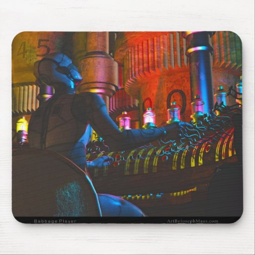 Babbage Player Mousepads