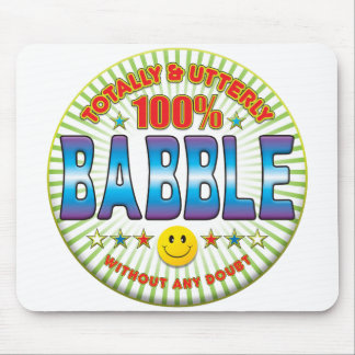 Babble Totally Mousemat