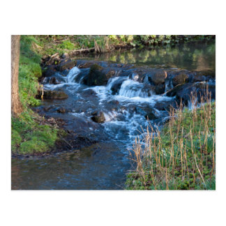 Babbling Brook Postcard