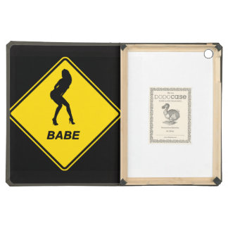 """""""Babe"""" design Apple product cases and sleeves iPad Air Cover"""