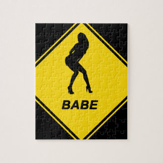 """Babe"" design Jigsaw Puzzles"