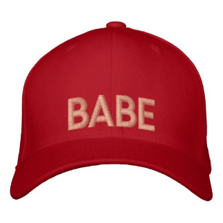 Babe Embroidery Cap Hat Embroidered Cap