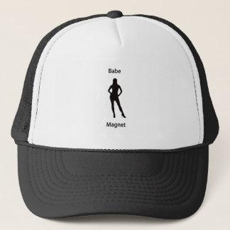 Babe magnet trucker hat