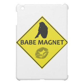 Babe Magnet Yellow Road Sign iPad Case