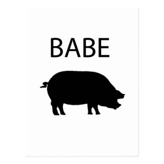 Babe Postcard