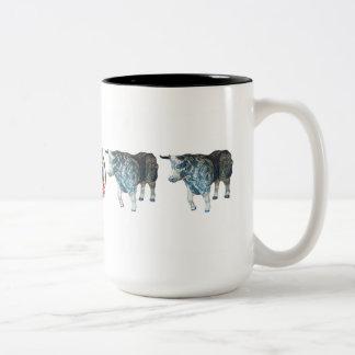 """""""Babe the Blue Ushi"""" 15 oz mug"""