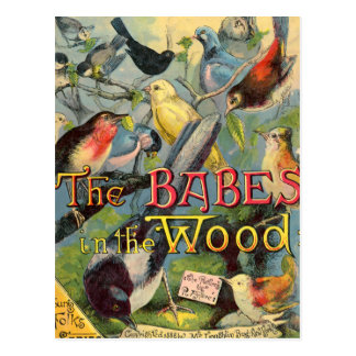 Babes in the Wood Postcard