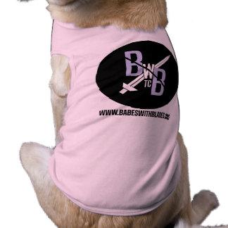 Babes With Buddies! Sleeveless Dog Shirt